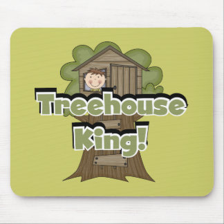 Treehouse King Tshirts and Gifts Mouse Pad