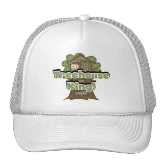 Treehouse King Tshirts and Gifts Trucker Hat
