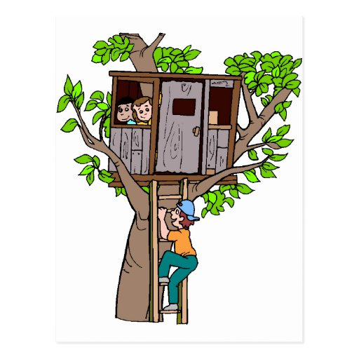 Treehouse Post Cards