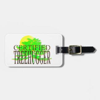 Treehugger certificado etiquetas bolsas