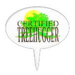 Treehugger certificado figuras de tarta