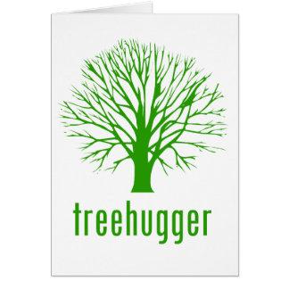 Treehugger Greeting Card