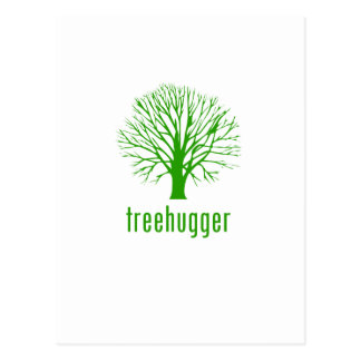 Treehugger Postcard