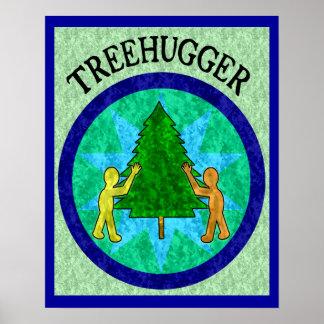 Treehugger Poster