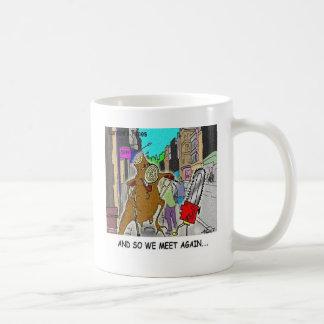 Treehugger Rick London Cartoon Funny Gifts Coffee Mug