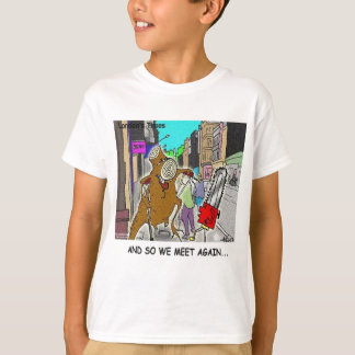 Treehugger Rick London Cartoon Funny Gifts T-Shirt