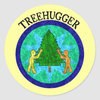 Treehugger Stickers