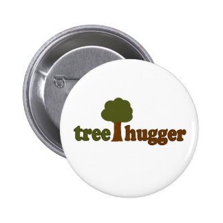 Treehugger (Tree) Button
