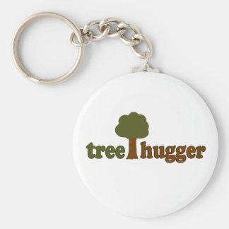 Treehugger (Tree) Keychain