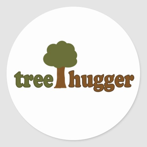 Treehugger (Tree) Stickers