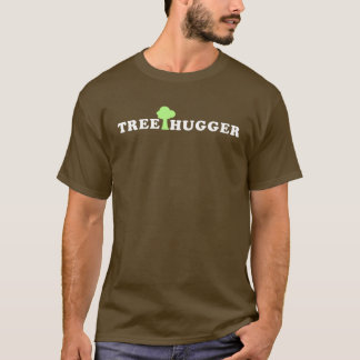 Treehugger with Tree T-Shirt