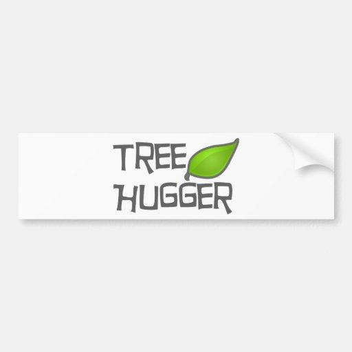 TreeHuggerArt Bumper Sticker