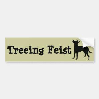 Treeing Feist Bumper Sticker Car Bumper Sticker