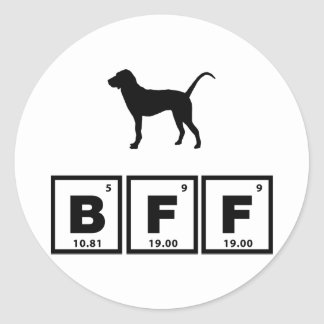 Treeing Tennessee Brindle Classic Round Sticker