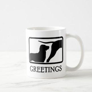 Treeing Tennessee Brindle Classic White Coffee Mug