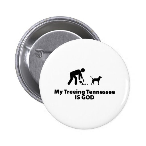 Treeing Tennessee Brindle Pin