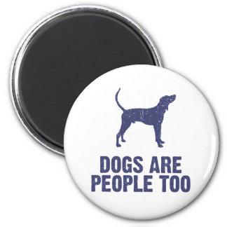 Treeing Walker Coonhound 2 Inch Round Magnet