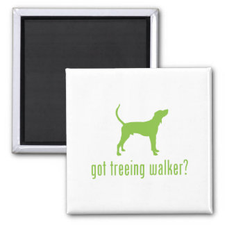 Treeing Walker Coonhound 2 Inch Square Magnet