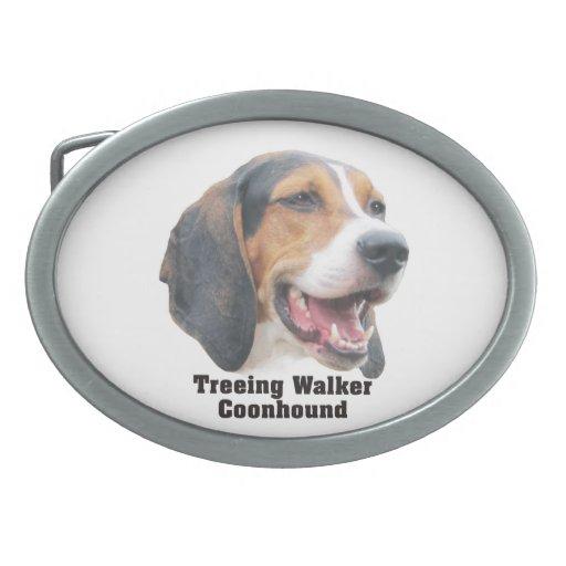 Treeing Walker Coonhound Belt Buckle