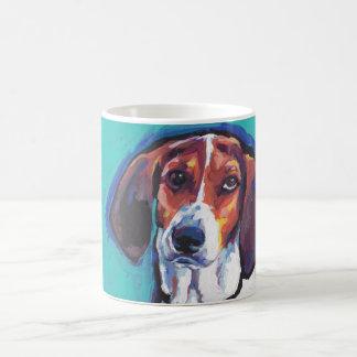 treeing walker coonhound Bright Colorful Pop  Art Coffee Mug