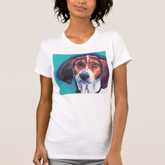 treeing walker coonhound Bright Colorful Pop  Art T-Shirt
