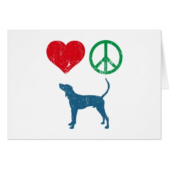 Treeing Walker Coonhound Card