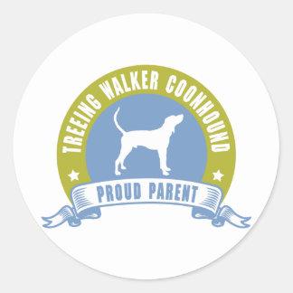 Treeing Walker Coonhound Classic Round Sticker