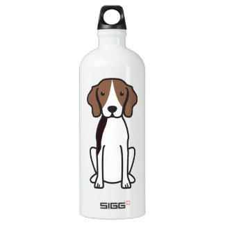 Treeing Walker Coonhound Dog Cartoon Aluminum Water Bottle