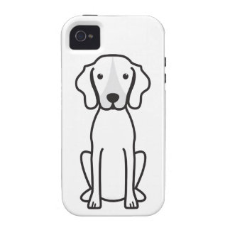 Treeing Walker Coonhound Dog Cartoon Case-Mate iPhone 4 Case