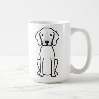 Treeing Walker Coonhound Dog Cartoon Coffee Mug