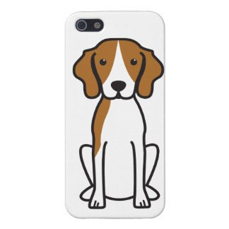 Treeing Walker Coonhound Dog Cartoon Cover For iPhone 5