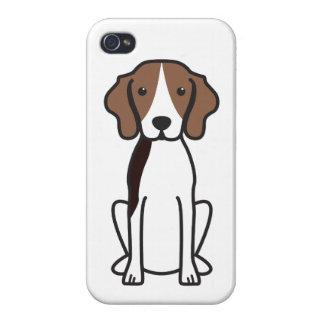 Treeing Walker Coonhound Dog Cartoon iPhone 4/4S Cover