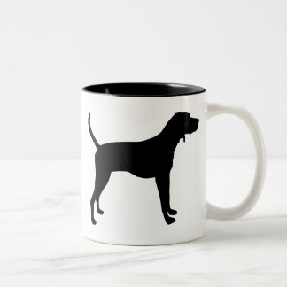 Treeing Walker Coonhound Gear Two-Tone Coffee Mug