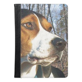 Treeing Walker Coonhound In Woods iPad Air Case