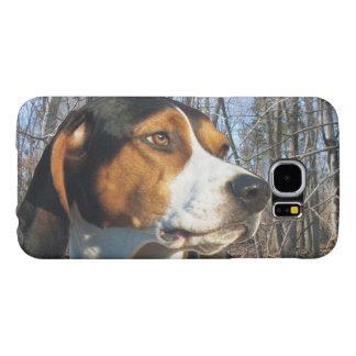Treeing Walker Coonhound In Woods Samsung Galaxy S6 Case