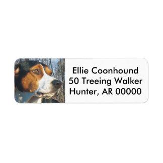 Treeing Walker Coonhound Label