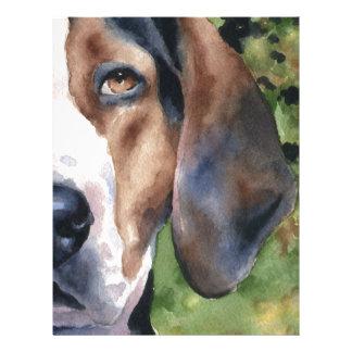 Treeing Walker Coonhound Letterhead
