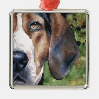 Treeing Walker Coonhound Metal Ornament