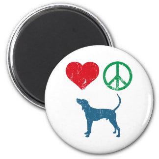 Treeing Walker Coonhound Refrigerator Magnets