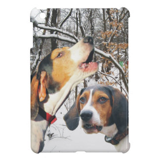 Treeing Walker Coonhound Snowy Woods Cover For The iPad Mini