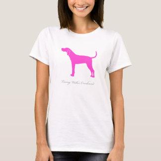 Treeing Walker Coonhound T-shirt (pink)