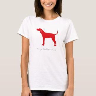 Treeing Walker Coonhound T-shirt (red)