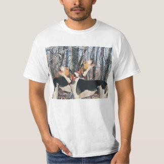 Treeing Walker Coonhounds in Woods T Shirt
