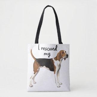 Treeing Walker Rescue Tote Bag