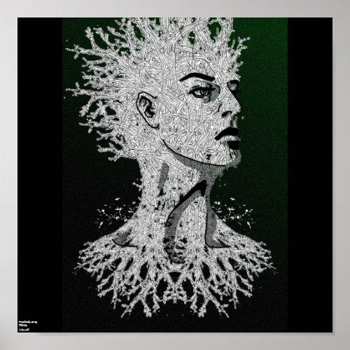 treelady print