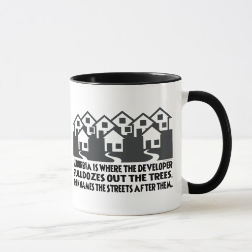 Treeless Suburbia Mug