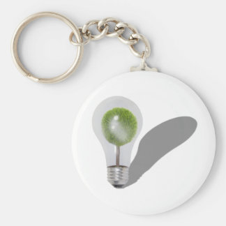 TreeLightbulb062210shadows Keychain