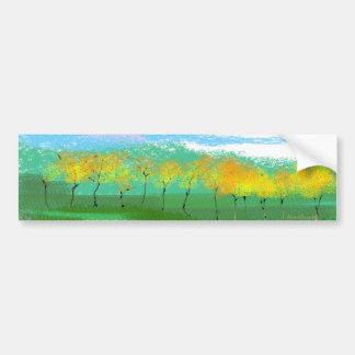 Treeline Car Bumper Sticker