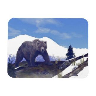 Treeline Grizzly Magnet