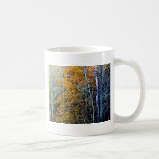 TREELINE IN AUTUMN CLASSIC WHITE COFFEE MUG